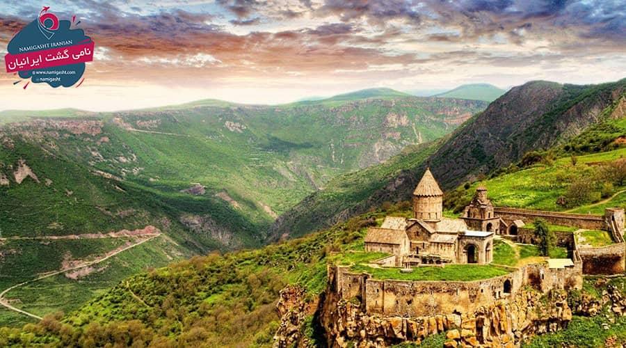 آب و هوای ارمنستان در نوروز 1400