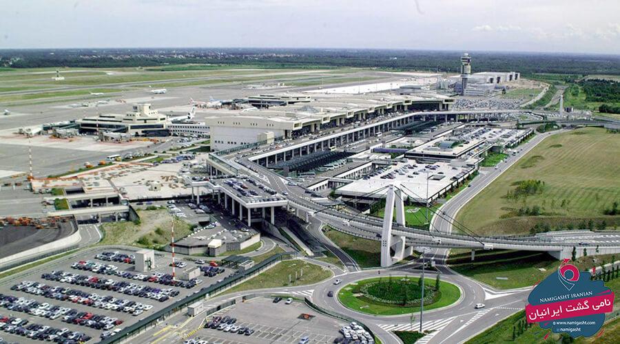 فرودگاه های میلان ایتالیا