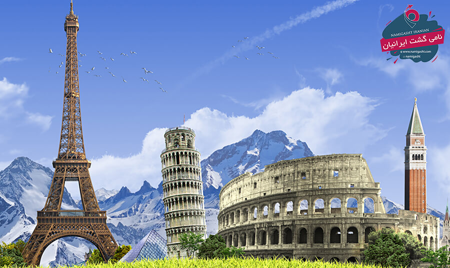 تور فرانسه ایتالیا