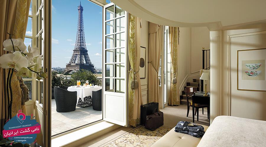 امکانات هتل ها در فرانسه