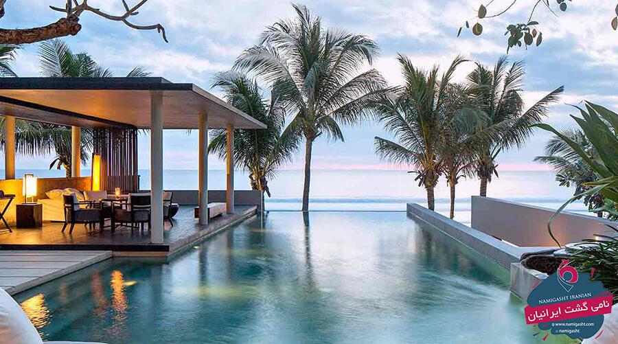 هتل های لوکس و 5 ستاره بالی