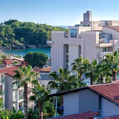 هتل sealife buket resort beach alanya