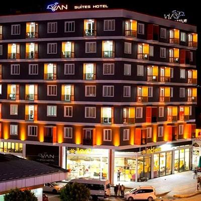 هتل van suits
