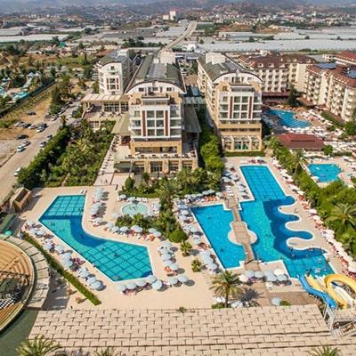 هتل hedef beach resort & spa alanya