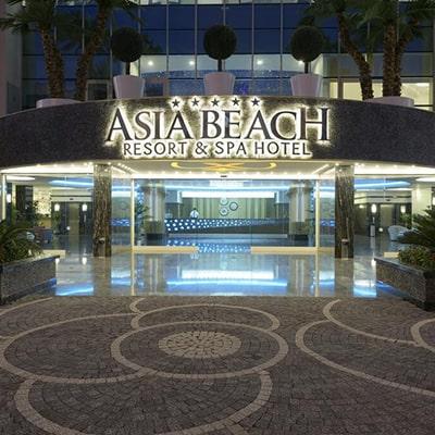 هتل asia beach resort alanya