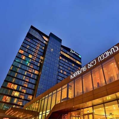 هتل radisson Blu Tbilisi