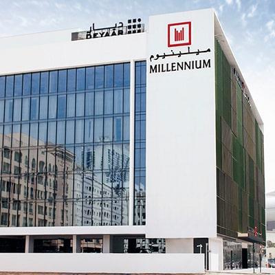 هتل millennium al barsha dubi