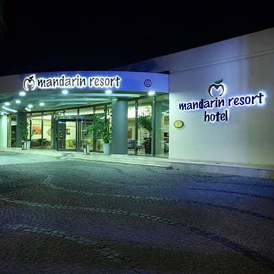 هتل mandarin resort bodrum