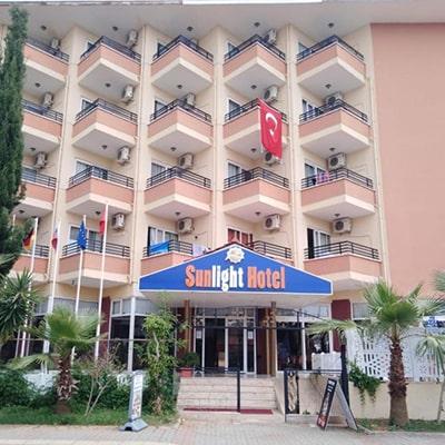 هتل kleopatra sun light alanya