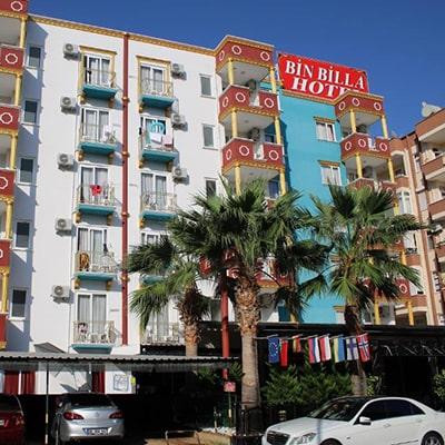 هتل  bin billa alanya