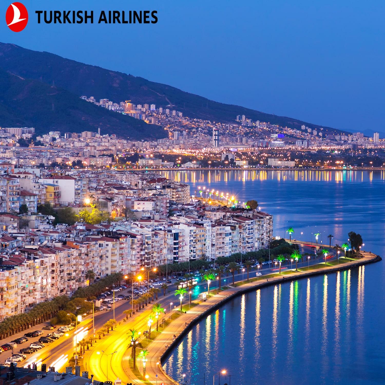 تور ازمیر با پرواز ترکیش