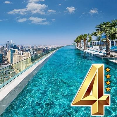 تور دبی هتل 4 ستاره - هوایی