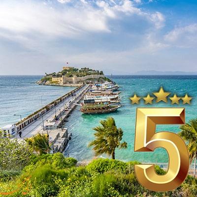 تور کوش آداسی هتل 5 ستاره UALL