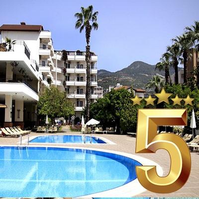 تور آلانیا هتل 5 ستاره UALL