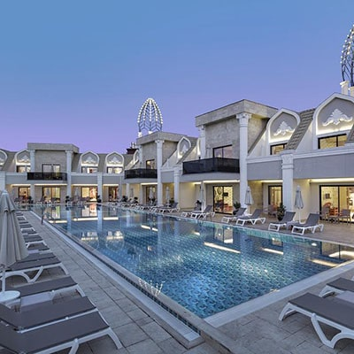 تور آنتالیا هتل گرانادا لاکچری - هوایی