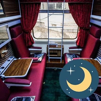تور مشهد ماه رمضان با قطار