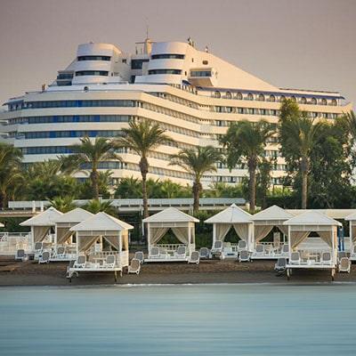 تور آنتالیا هتل تایتانیک بیچ لارا